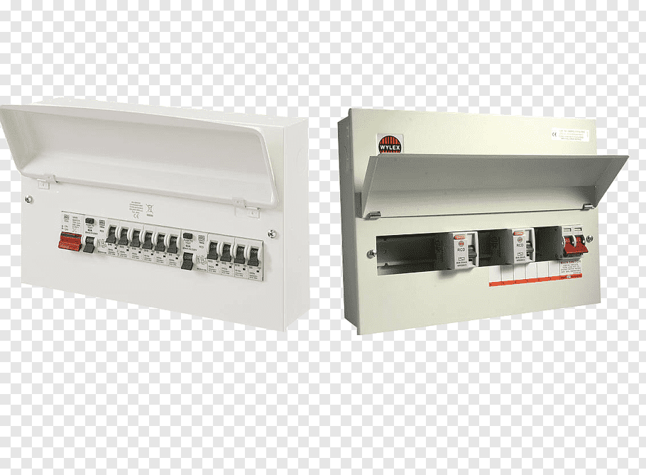 Consumer Unit Png - Consumer unit Electronic component Residual-current device ...