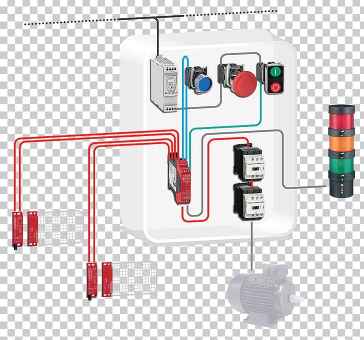 Contactor Schematic Png - Contactor Schneider Electric Wiring Diagram Safety Machinery ...