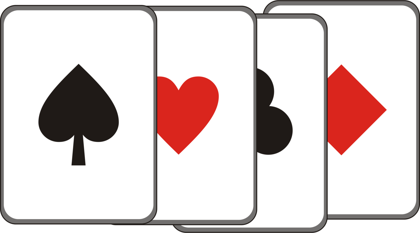 Playing Bridge Png - Contract Bridge Playing Card Card Game A #209183 - PNG Images - PNGio
