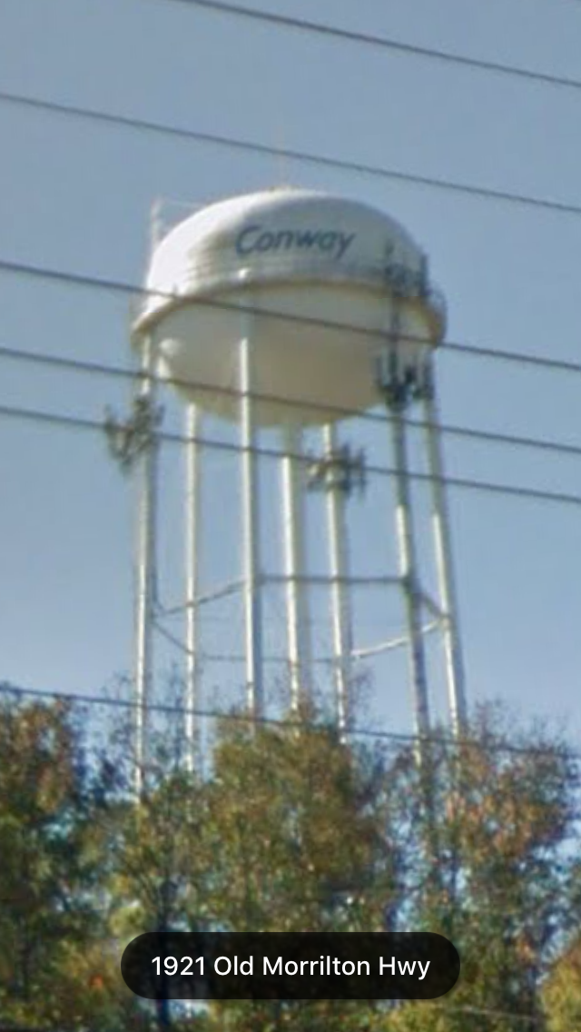 Png Of Lumberton Water Tower - Conway, AR | American Water Towers | Pinterest | Water tower and Tower