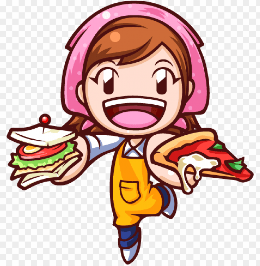 Cooking Mama 4 Kitchen Magic 3ds Game 541008 Png