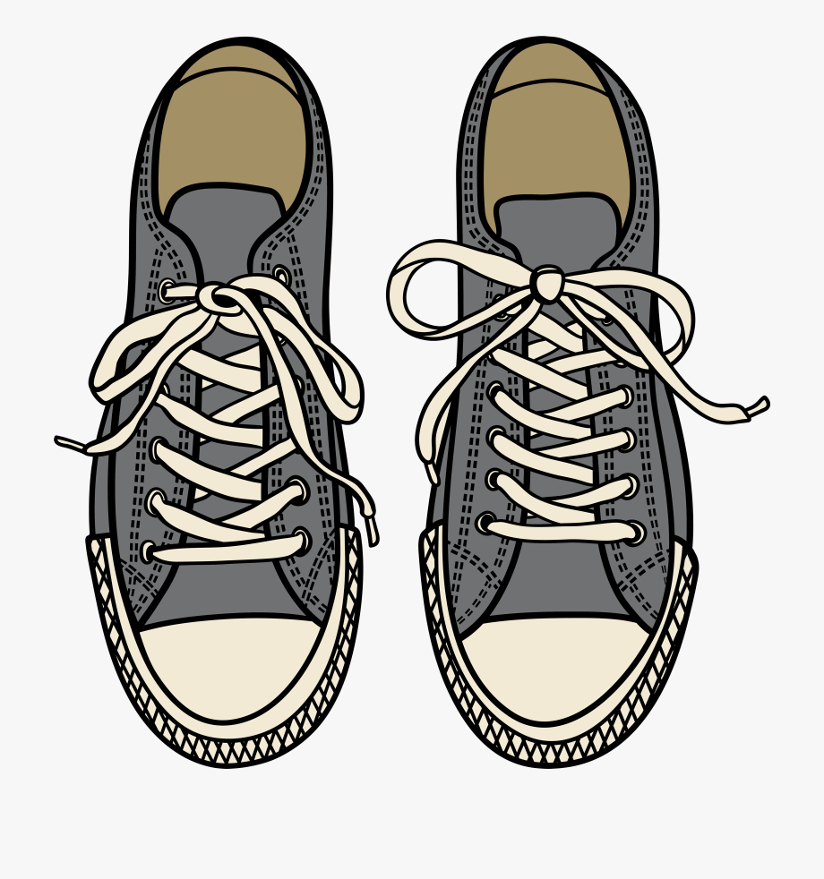 Shoes Top View Png - Cool Design Shoes Clipart Free 1 Black And White Images - Shoes ...