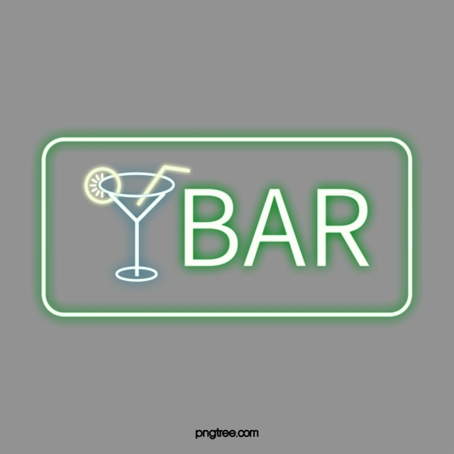 Cool Green Png - Cool Green Neon Bar Sign Bar, Cool, Green, Neon Light PNG and ...