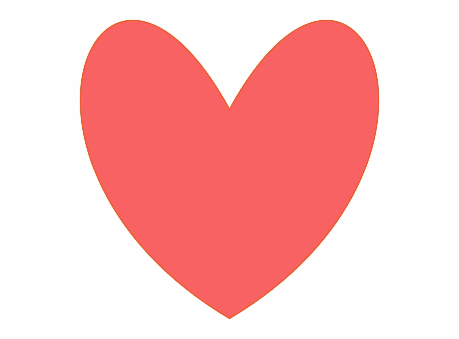 Coral Heart Png - Coral Heart Clip Art At Clker - Heart   Transparent PNG Download ...