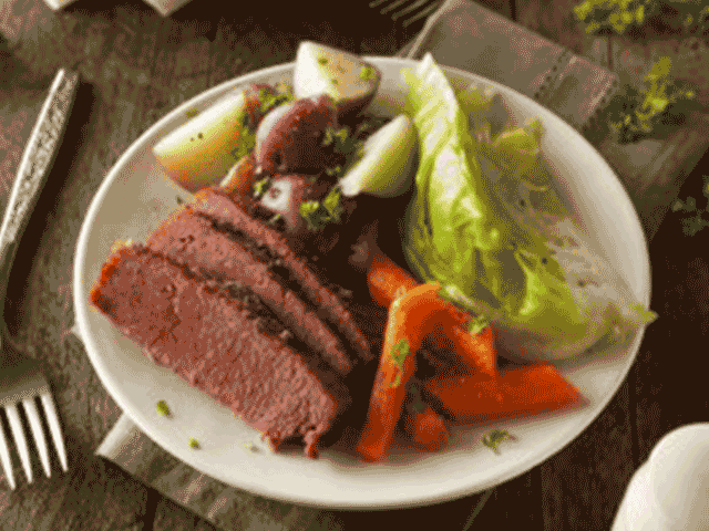 Corned Beef And Cabbage Png - Corned Beef and Cabbage recipe - Buy For Less Oklahoma Grocery Stores