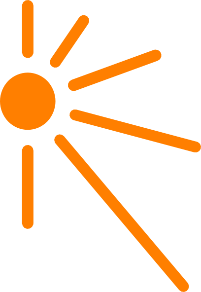 Sun corner. Cliparts license p png