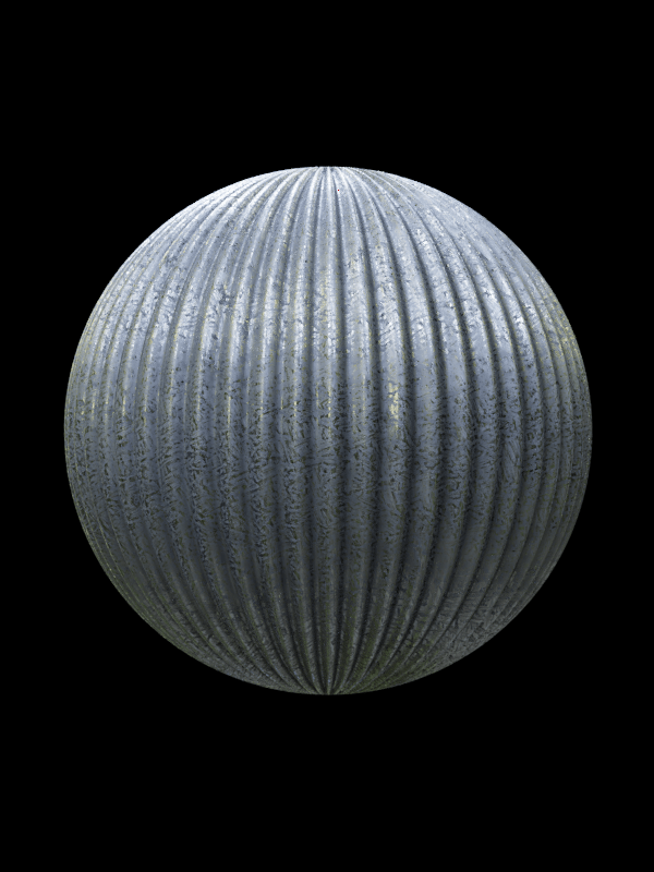 Corrugated Metal Texture Png - Corrugated Metal 006 | 3D TEXTURES