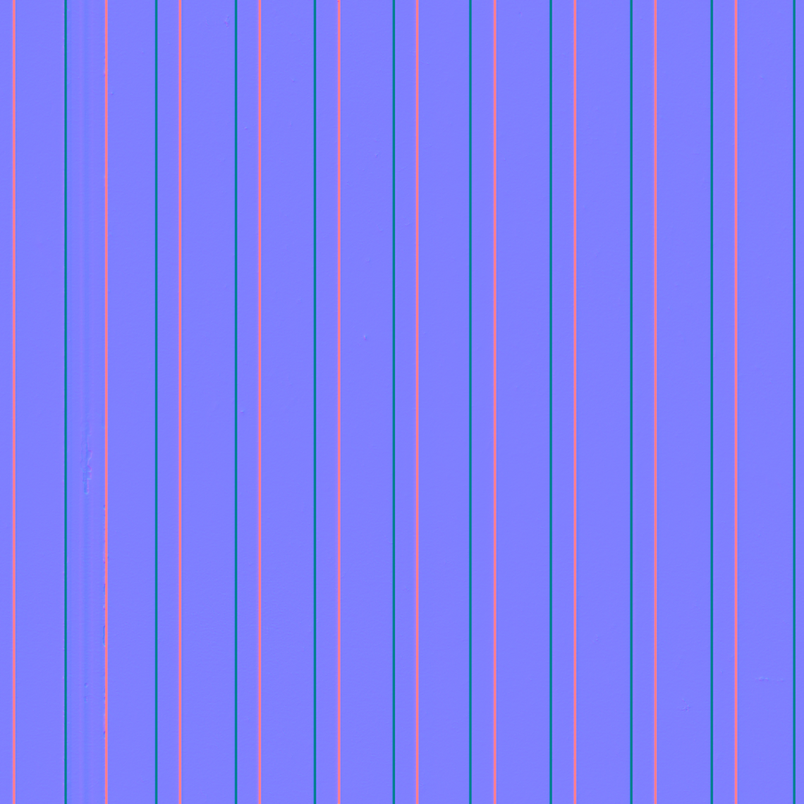 Corrugated Metal Texture Png - Corrugated-Metal-01-Normal - Good Textures