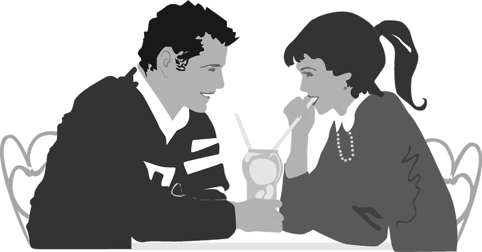 Dinner Date Png - Couple Dinner   Free Stock Photo   Illustration of a couple on a ...