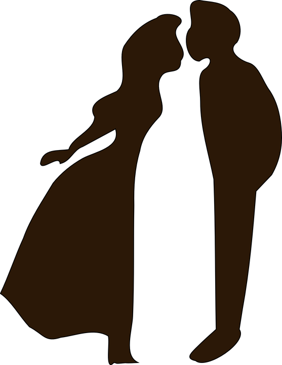 Romantic Woman Png - Couple Kiss Love - Free vector graphic on Pixabay