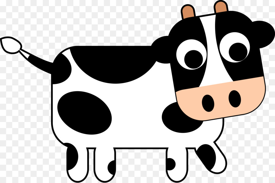 Cartoon Cow Png - cow png download - 2400*1598 - Free Transparent Cattle png Download.