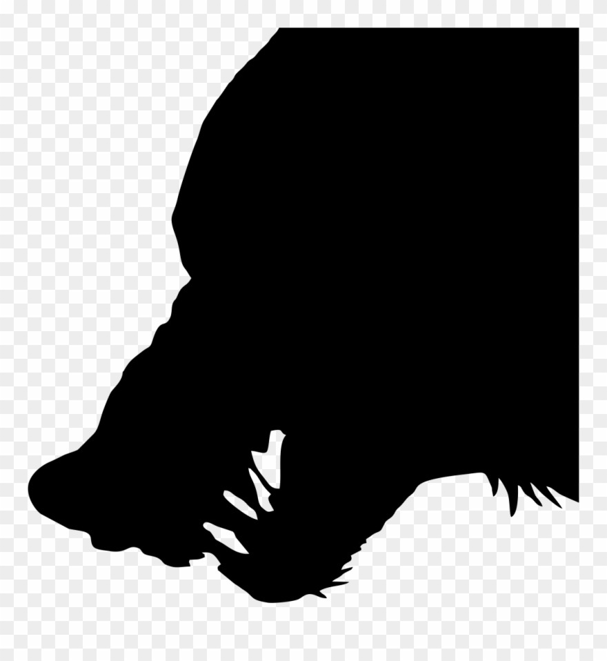 Wolf Head Silhouette Png - Coyote Clipart Wold - Wolf Head Silhouette Png Transparent Png ...