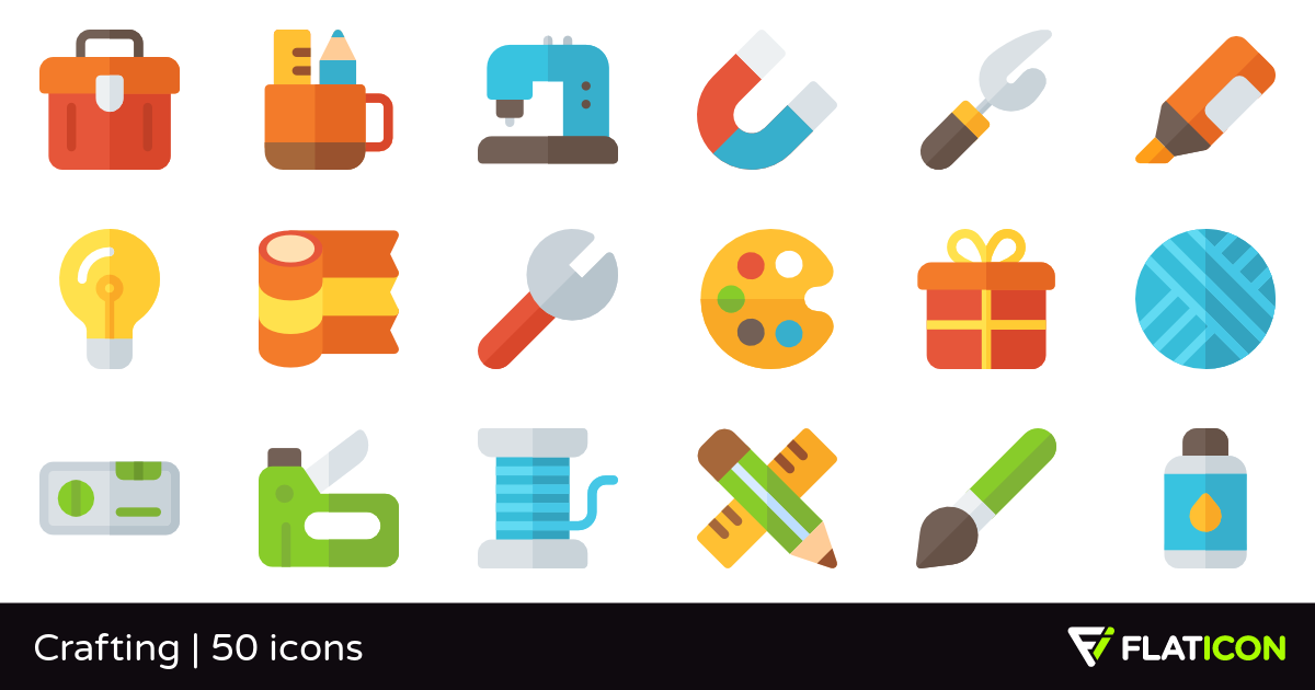 Crafting Png - Crafting 50 free icons (SVG, EPS, PSD, PNG files)