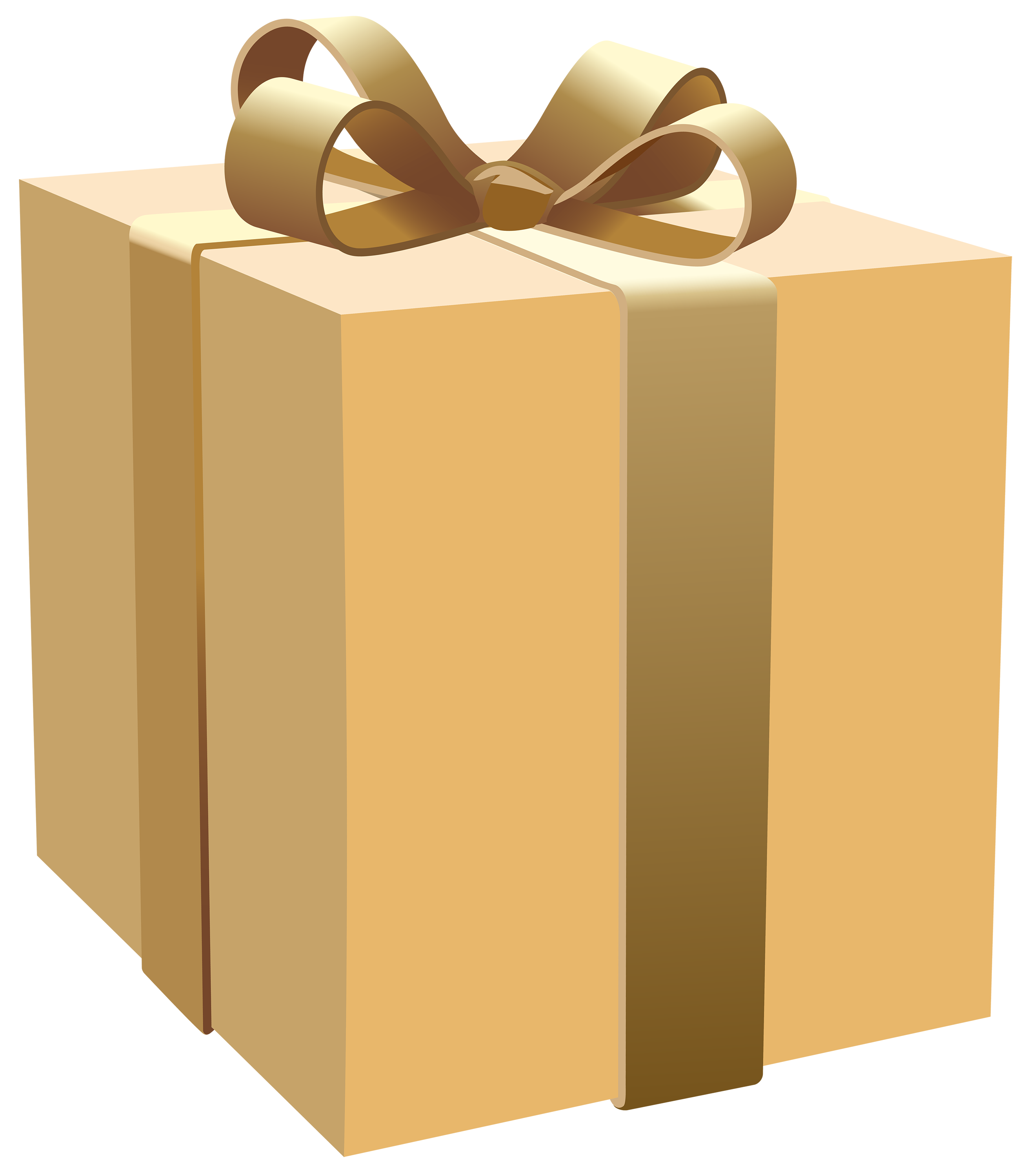 Gift Package Png - Cream Gift Box PNG Clipart - Best WEB Clipart
