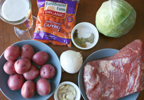 Corned Beef And Cabbage Png - Crockpot Corned Beef and Cabbage Recipe - Family Fresh Meals