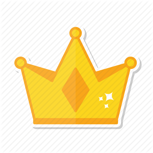 Gold Crown Stickers Png & Free Gold Crown Stickers.png