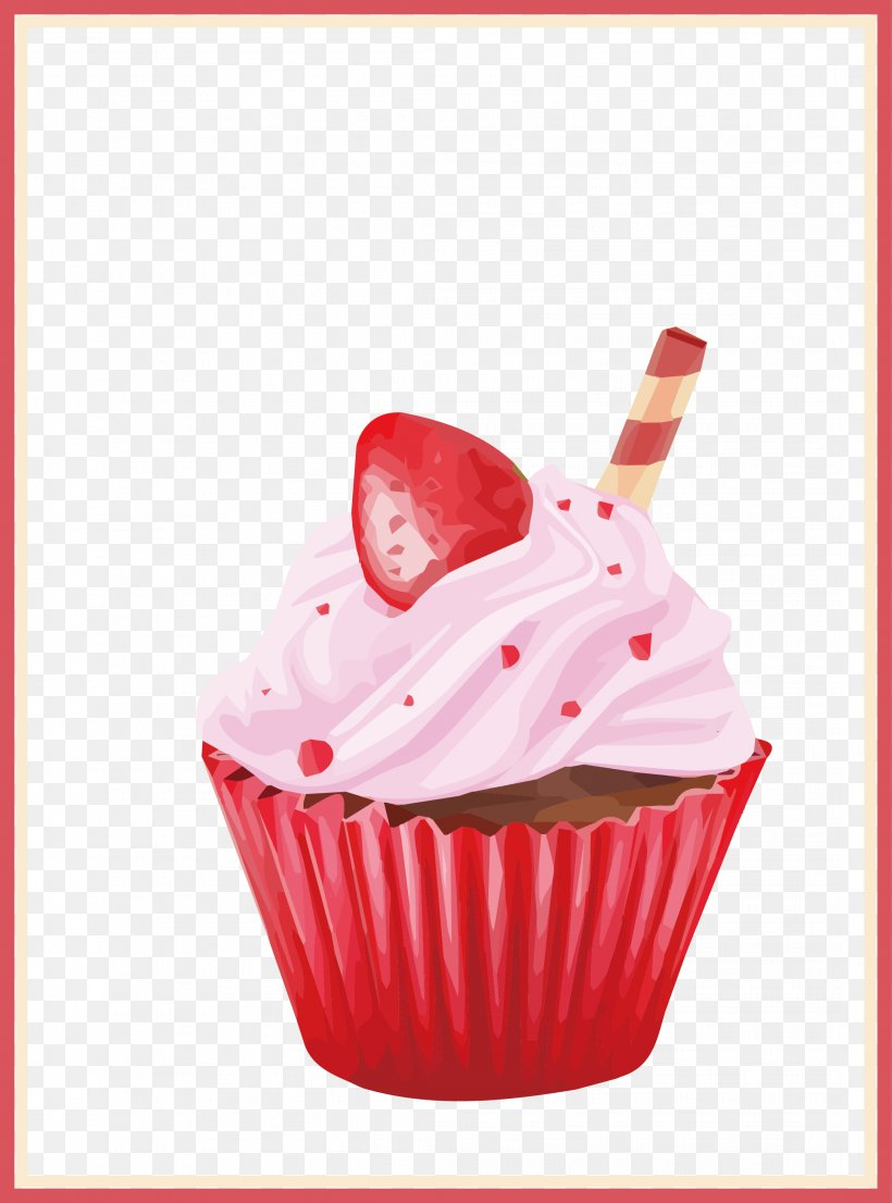 Messed Up Cake Vector Png - Cupcake Egg Tart Strawberry Cream Cake, PNG, 2169x2927px, Cupcake ...