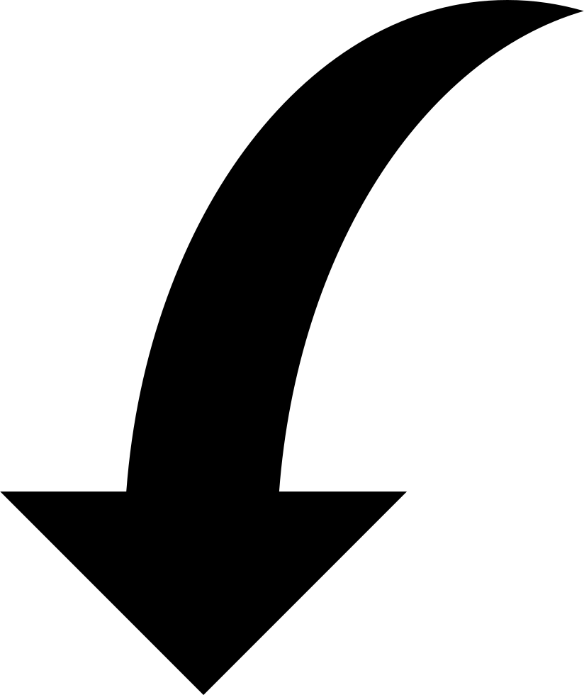 Curved Arrow Png - Curved Arrow Download PNG Image | PNG Mart