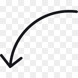 Curved Arrow Tool Curved Arrow Tool On 41437 Png Images