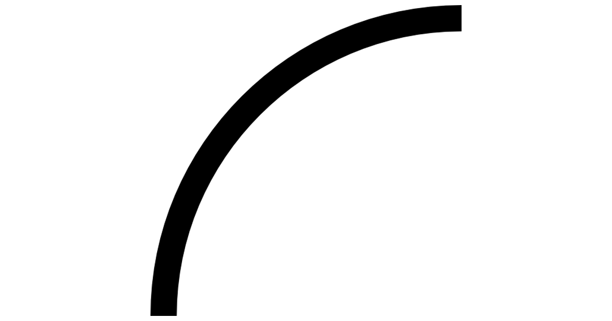 Curve Line Png - Curved Line - Free interface icons