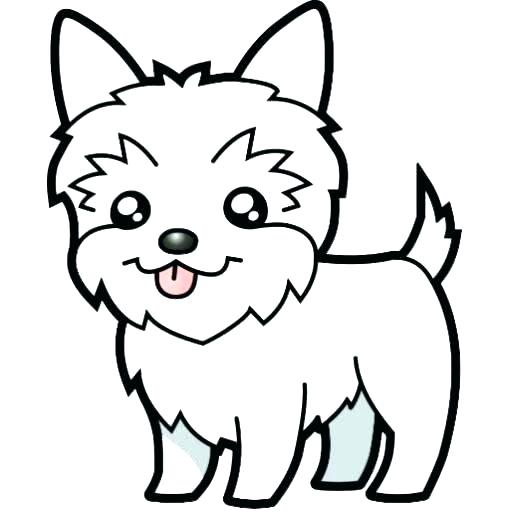 Coloring Pages Of Puppies Cute Puppy Colouring Pages 12020 Fee ... | 512x512