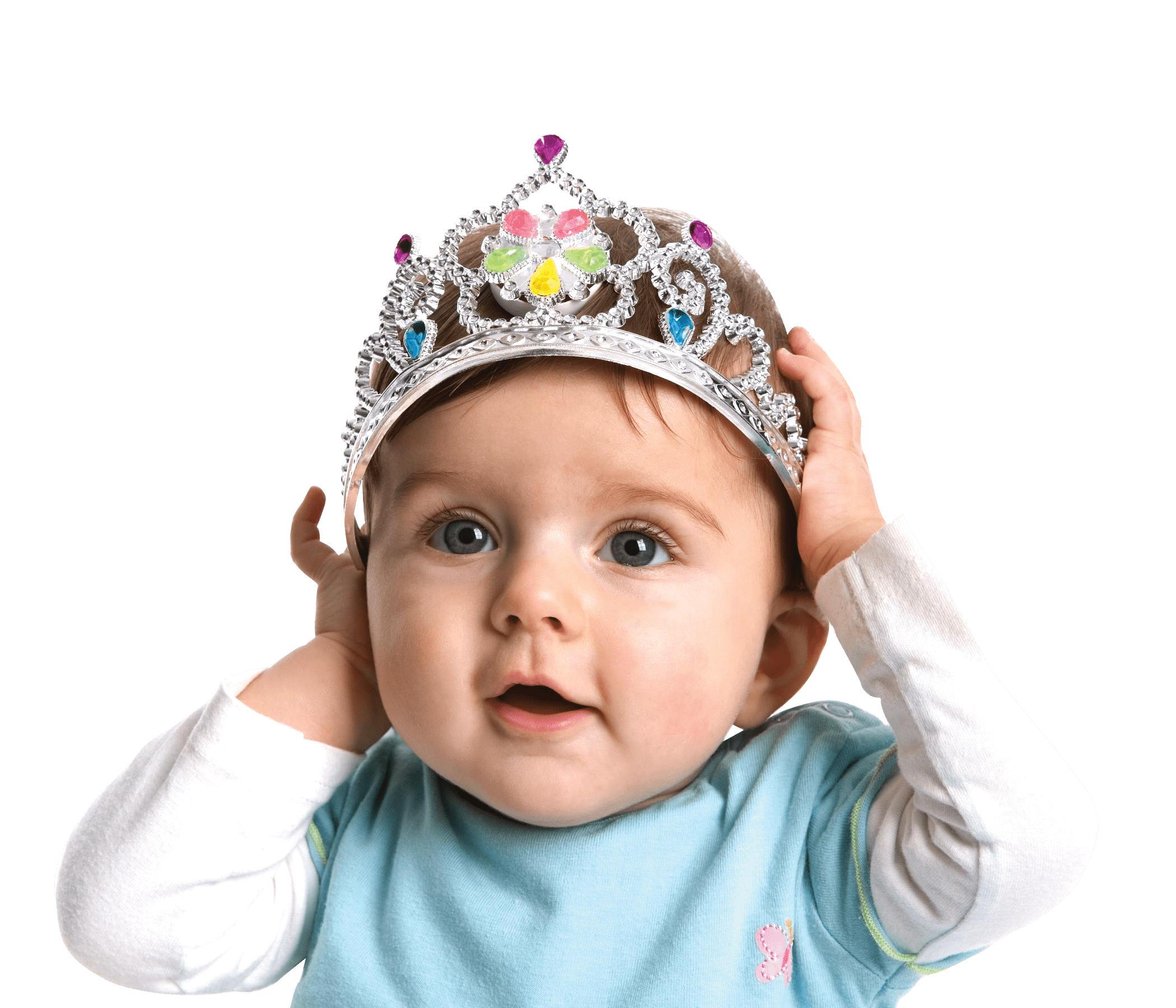 Cute Baby Png - Cute Baby With Crown