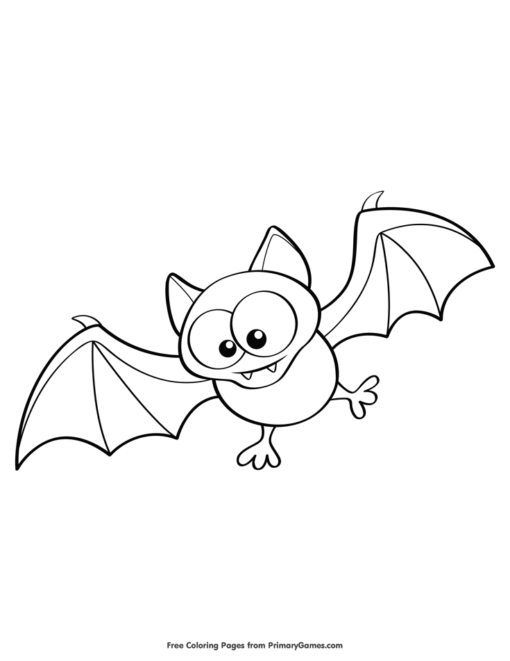 Bat Coloring Pages Png & Free Bat Coloring Pages.png ...