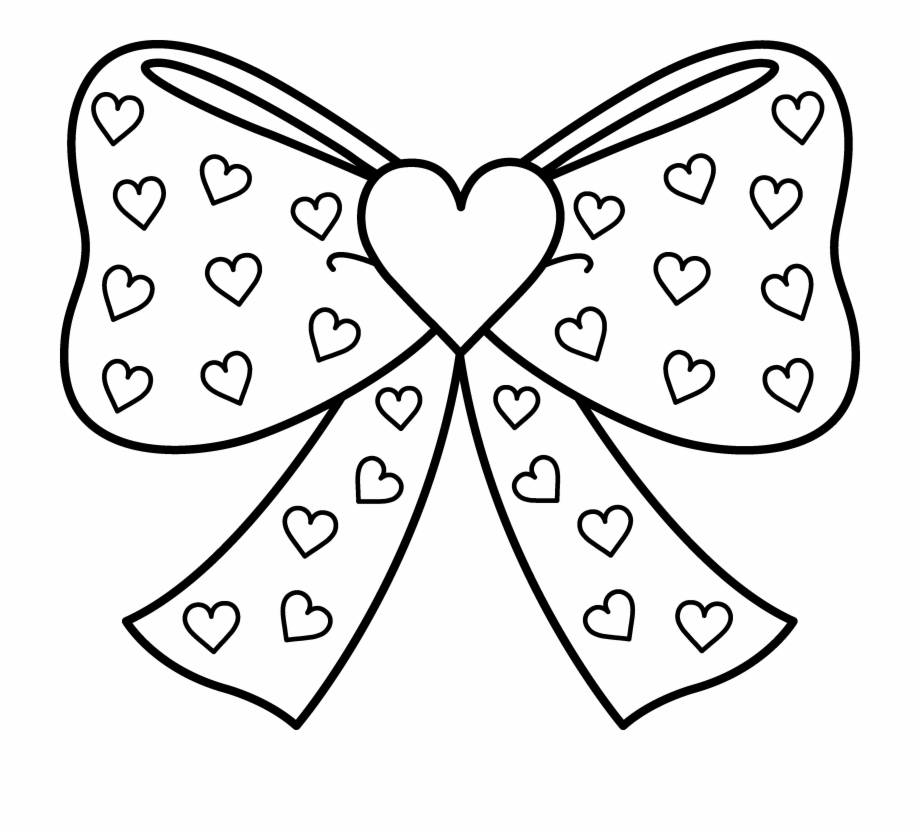 - Cute Bow Clipart To Print - Printable Jo #842810 - PNG Images - PNGio