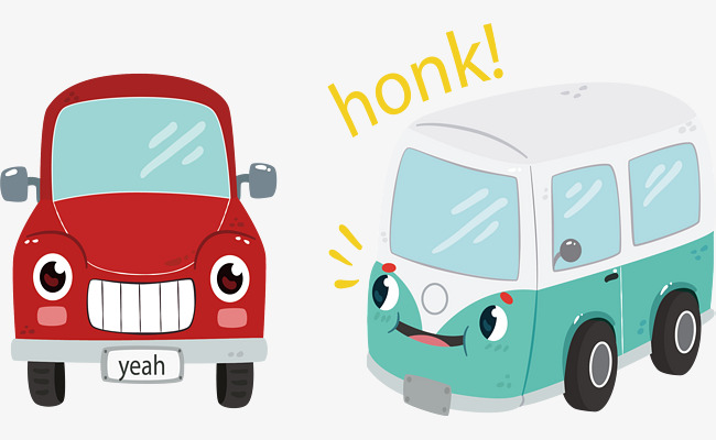Bus Png Cute - cute cartoon bus, Vector Material, Teach Early, Early Childhood Education  PNG and Vector