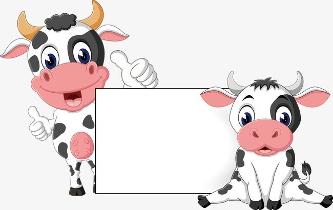 Cute Cow Png - Cute Cartoon Cow, Cartoon Vector, Cow Vector, Cartoon PNG and ...