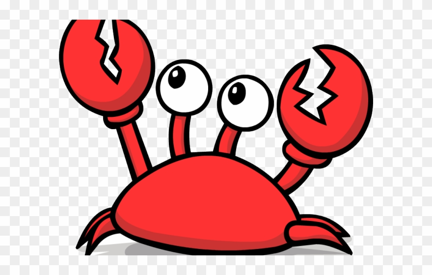 Cute Crab Png - Cute Clipart Hermit Crab - Png Download (#244898) - PinClipart