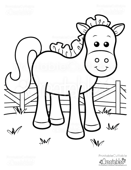 American Saddlebred Mare Horse coloring page   Free Printable ...   550x425