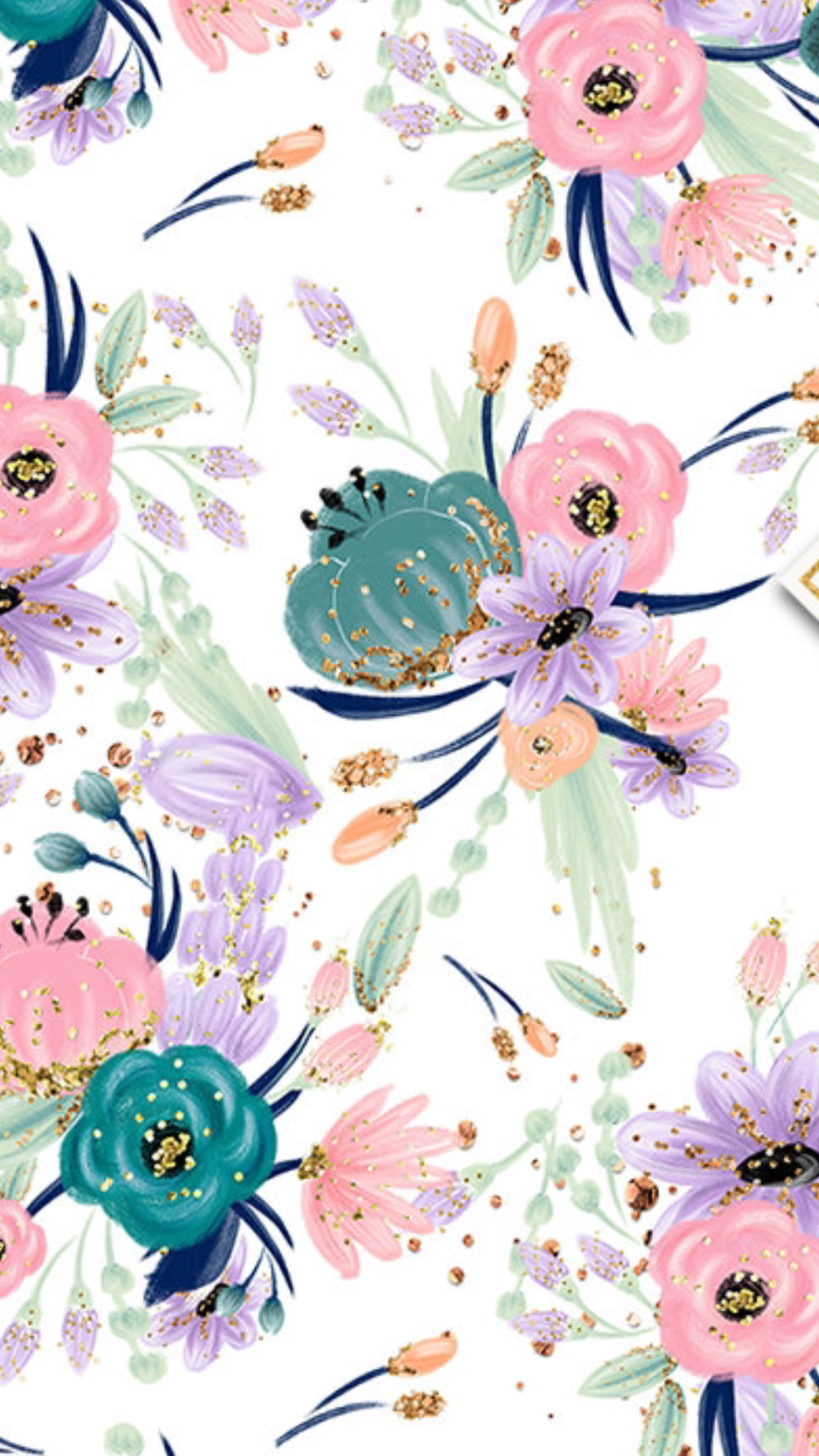 Cute Flowers Wallpaper Floral Wallpa 967592 Png Images Pngio