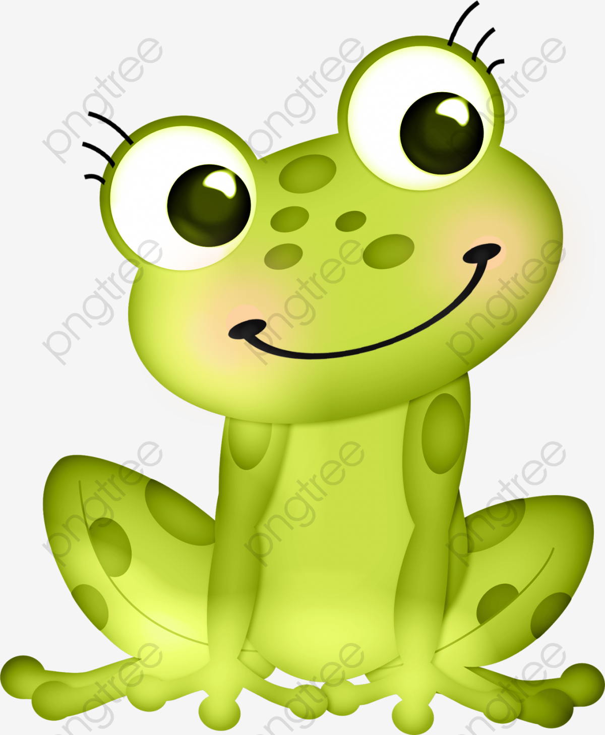Frog Png With No Border - Cute Frog, Frog Clipart, Cute Clipart, Frog PNG Transparent Image ...