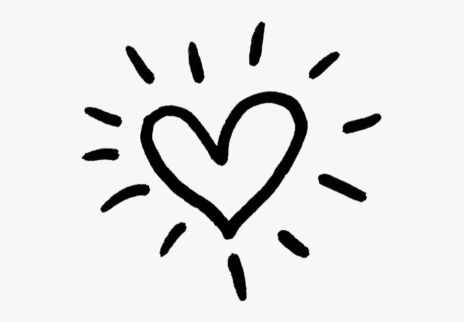 Cute Png Images - cute #heart #overlay #png #black #sticker #stickers - Cute Black ...