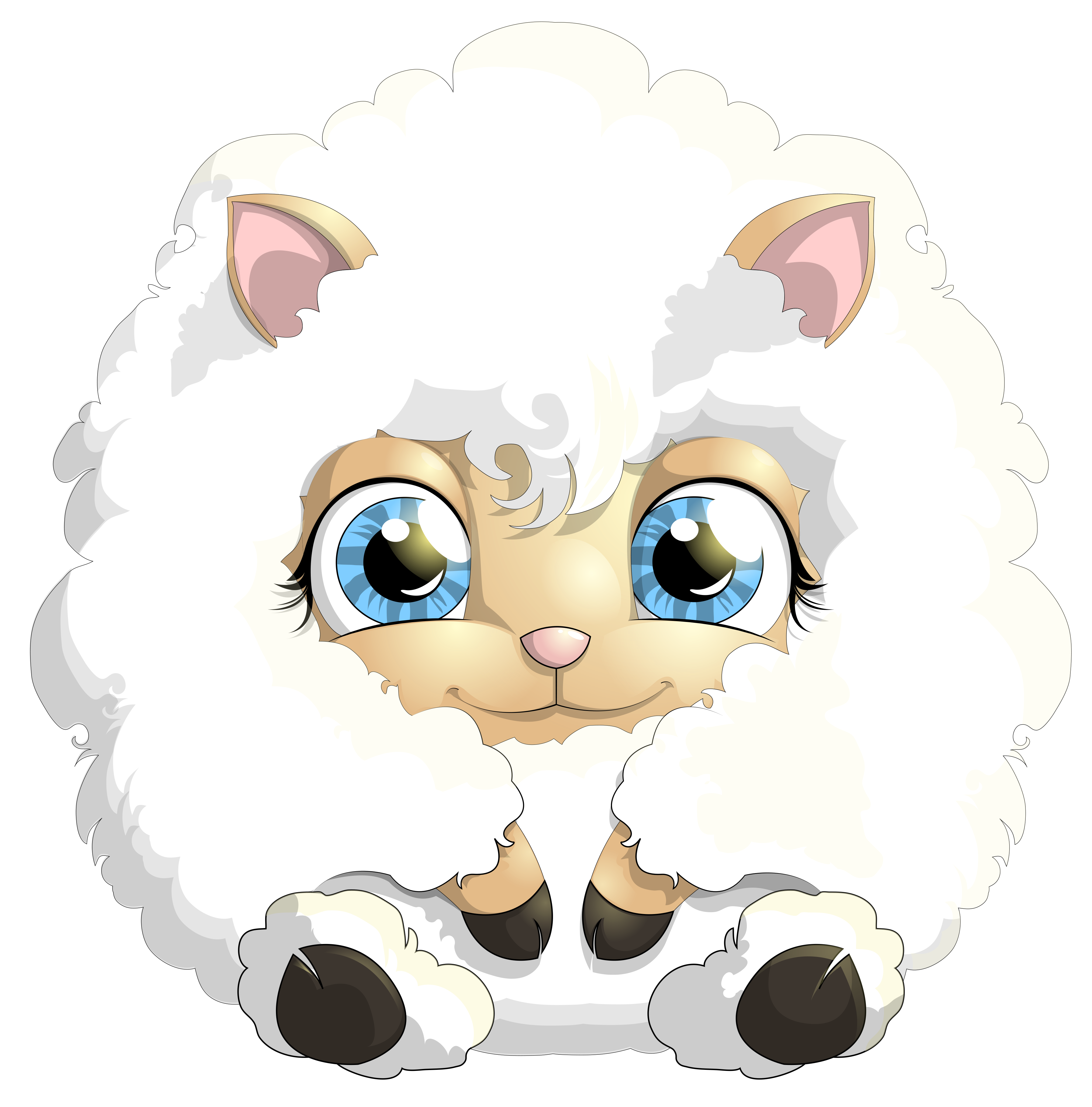 Lamb Png Free - Cute Lamb PNG Clipart Picture​ | Gallery Yopriceville - High ...