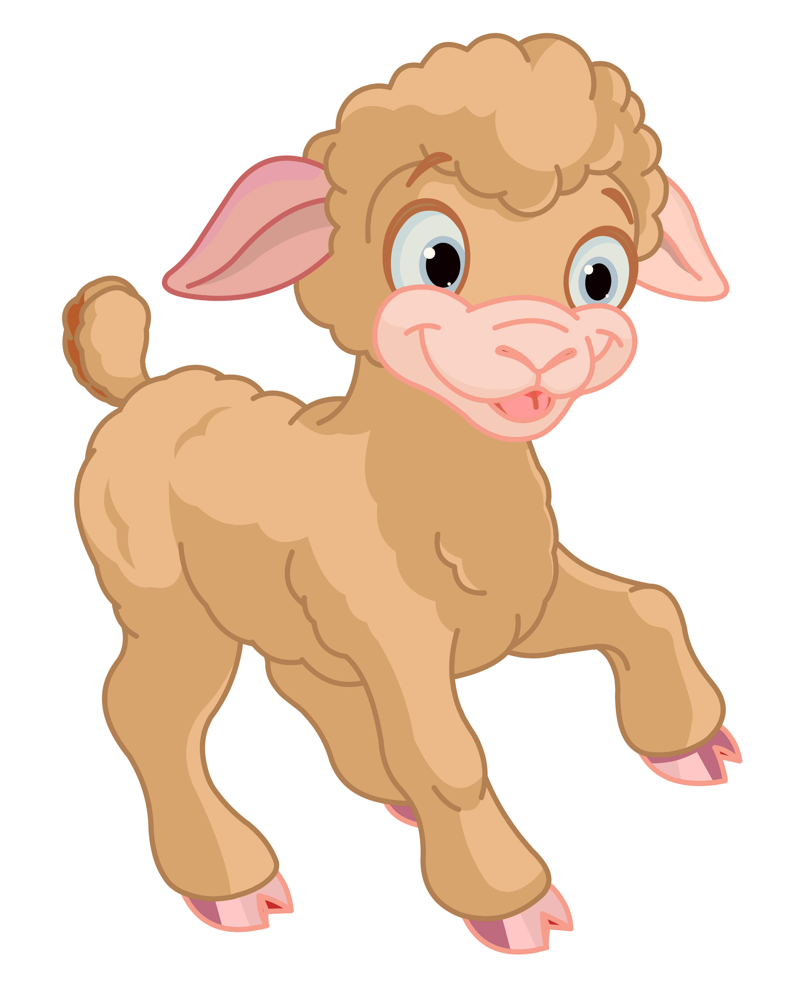 Lamb Png Free - Cute Little Lamb PNG Clipart​ | Gallery Yopriceville - High ...