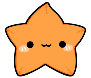Animated Starfish Png - Cute Starfish PNG Picture.PNG