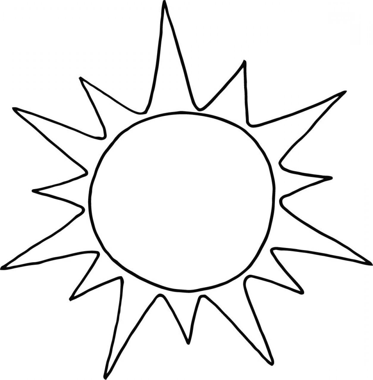 Cute Sun Clip Art Black And White Excell 804965 Png Images Pngio