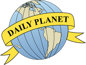 Daily Planet Logo - Daily Planet Logo Vector (.CDR) Free Download