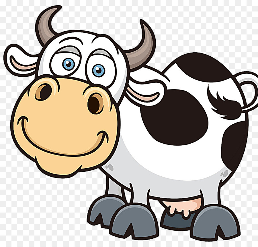 Cartoon Cow Png - Dairy cow png download - 994*930 - Free Transparent Cattle png ...