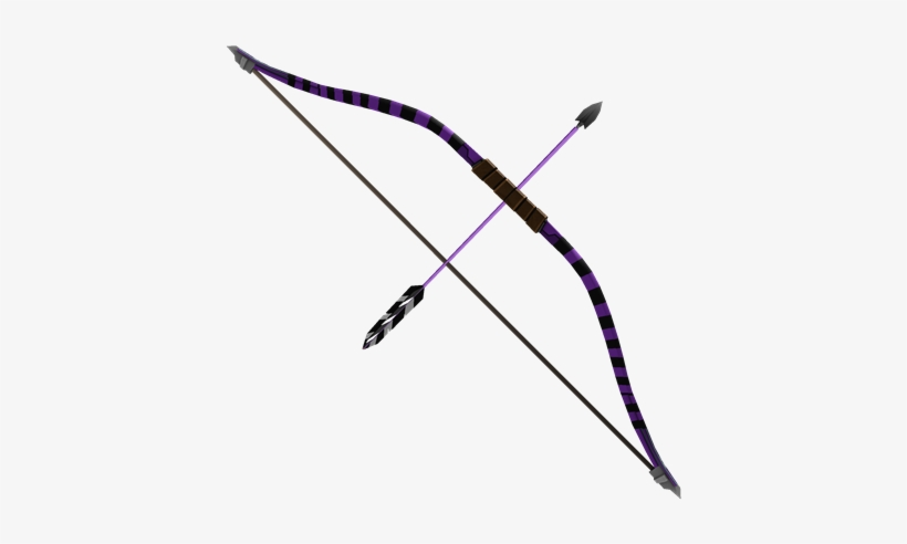 Bow And Arrow Transparent Background - Darkage Ninja Bow - Bow With Arrow Transparent Background - Free ...