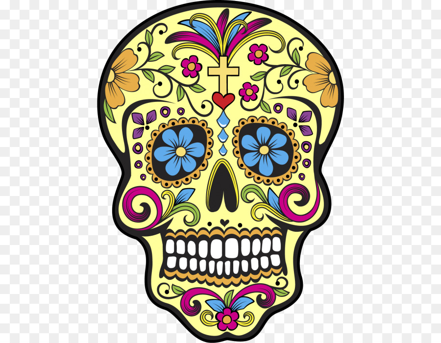 Catrina Png - Day Of The Dead Skull png download - 504*700 - Free Transparent ...