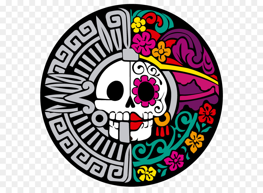 Catrina Png - Day Of The Dead Skull png download - 858*652 - Free Transparent La ...