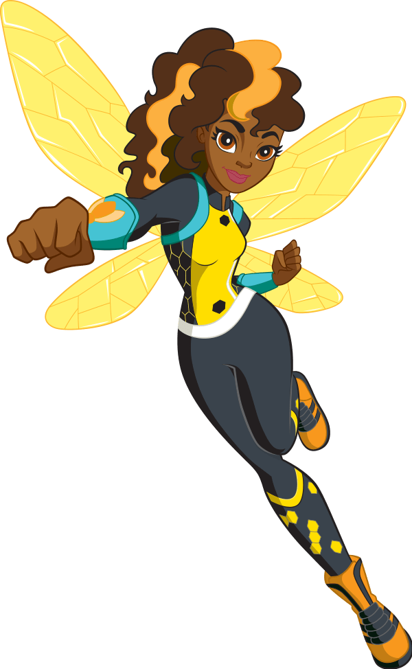 Girl Bumble Bee Png - DC Super Hero Girls Bumblebee transparent PNG - StickPNG