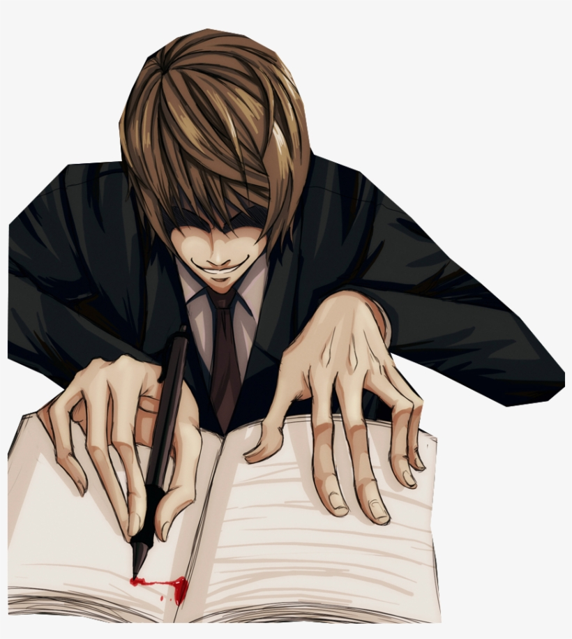 Death Note Png - Death Note Light Png - Light Death Note Png PNG Image ...