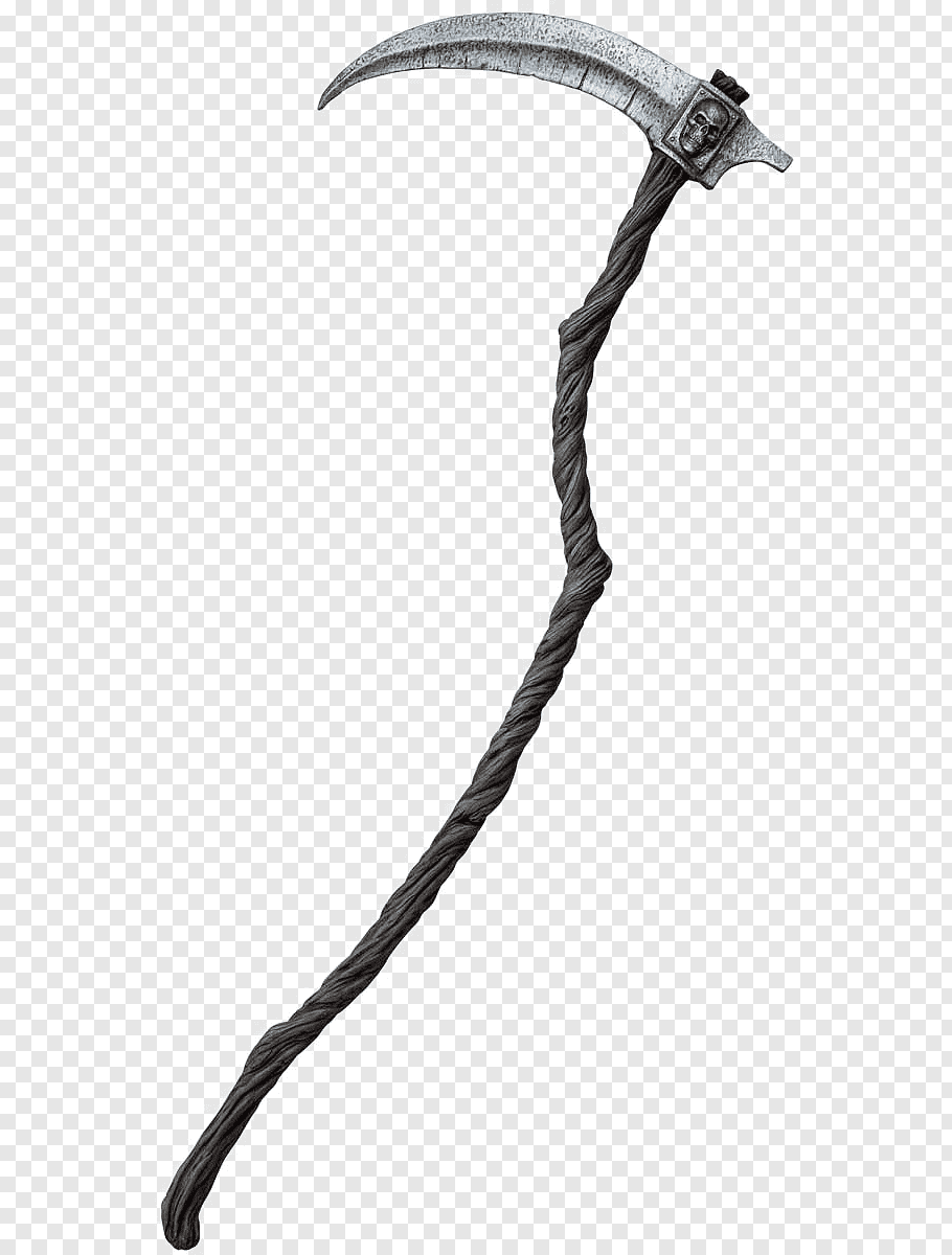 Death Sickle Png - Death Scythe Reaper Sickle Costume, sickle free png | PNGFuel