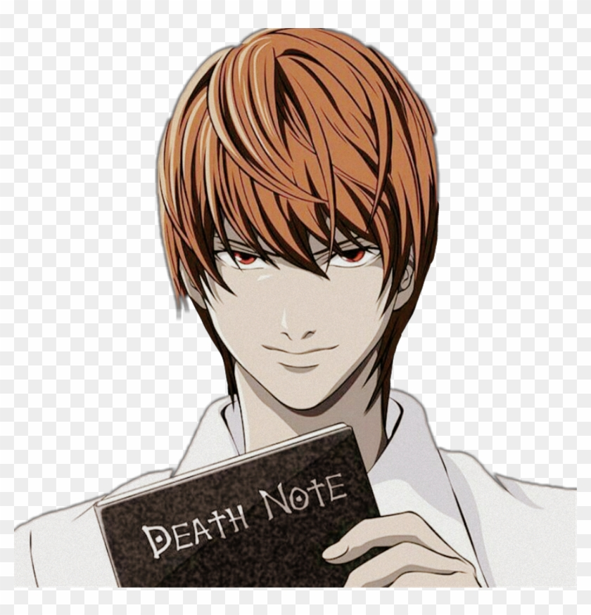 Death Note Png - Deathnote Kira Anime Blackandwhite ?❤ - Death Note Main ...