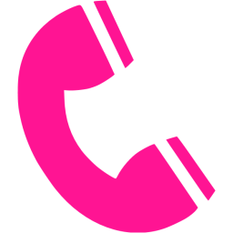 Deep Pink Phone 2 Icon Free Deep Pink Png Images Pngio