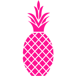 Deep Pink Pineapple Icon Free Deep Pin Png Images Pngio